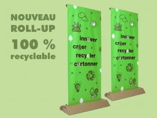 ROLL UP 100 RECYCLABLE